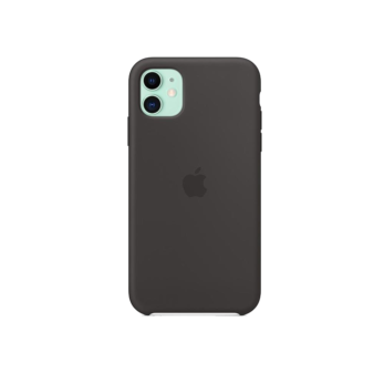 iPhone 11 - Silicone Case - Black - Apple