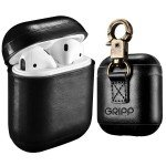 GRIPP - Airpods Genuine Leather Case with Metal